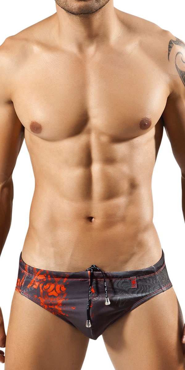 Clever Tiger Swimsuit Brief