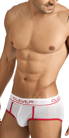 Clever Sport Mesh Piping Brief