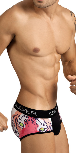 Clever Pop Tiger Piping Brief