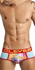 Clever Superhero Piping Brief