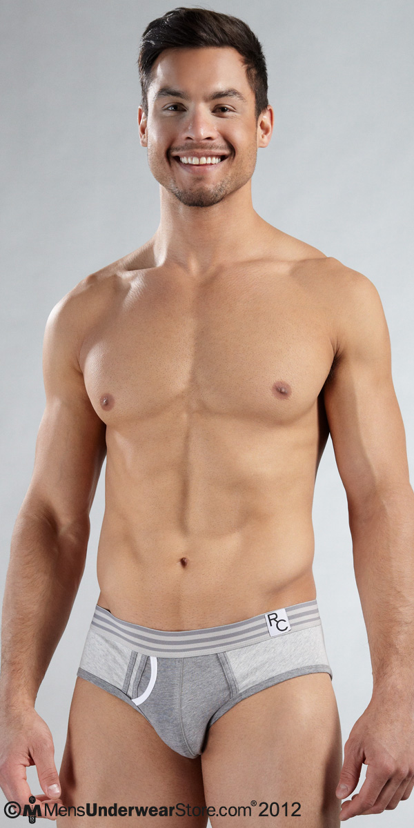 Ron Chereskin Heather Fly Front Brief