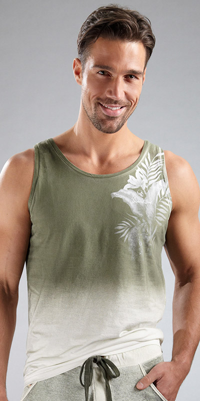 Diesel Zaby Out Of Water Tank Top