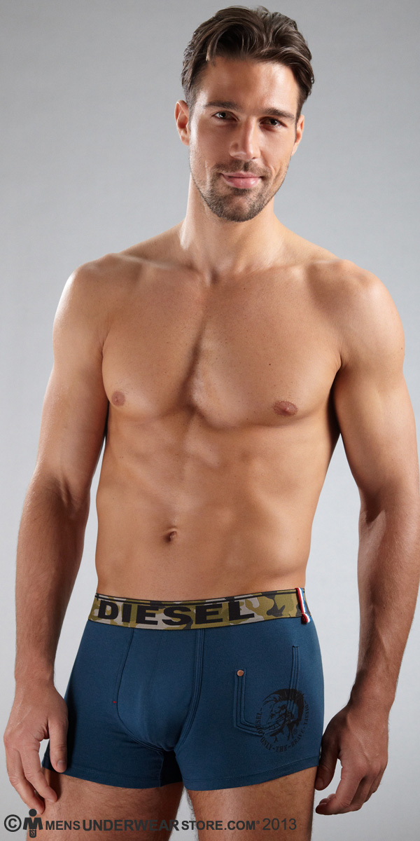 Diesel Camo Shawn Boxer Briefs