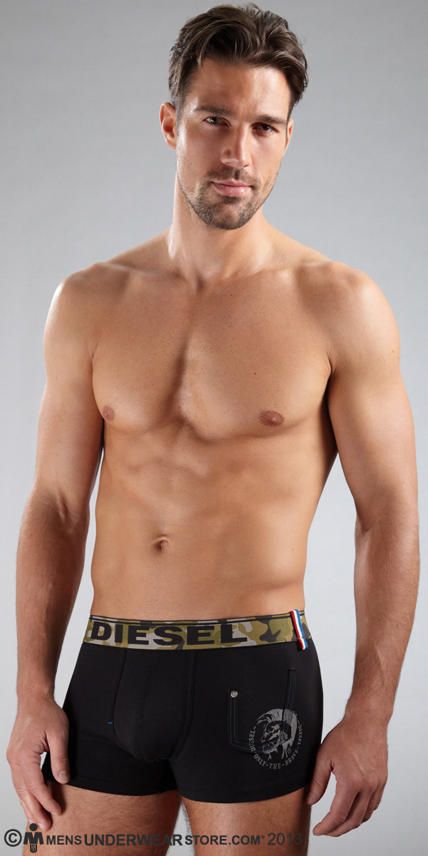 Diesel Camo Shawn Boxer Brief