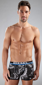 Diesel Tropical Shawn Boxer Briefs