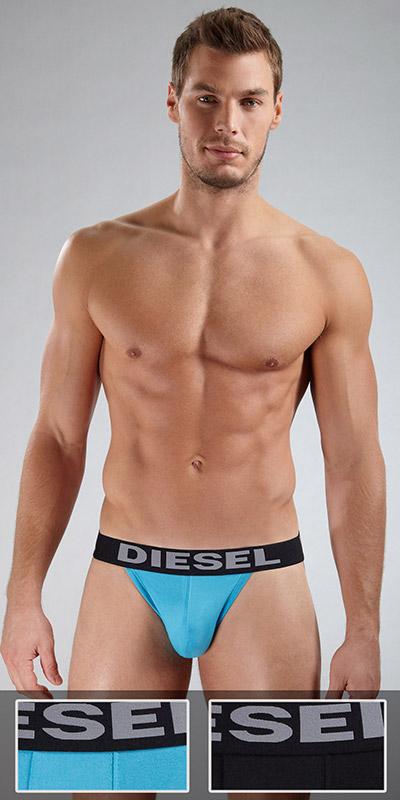 Diesel Jocky Jock Strap Two-Pack