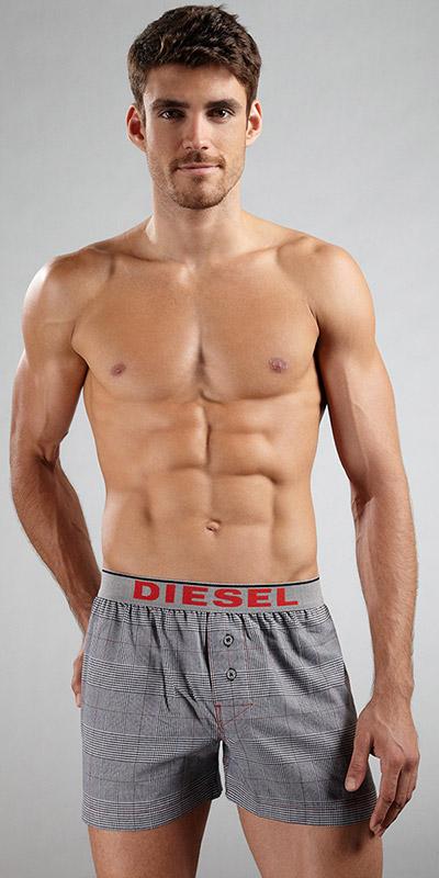 Diesel Flannel Luv Boxer