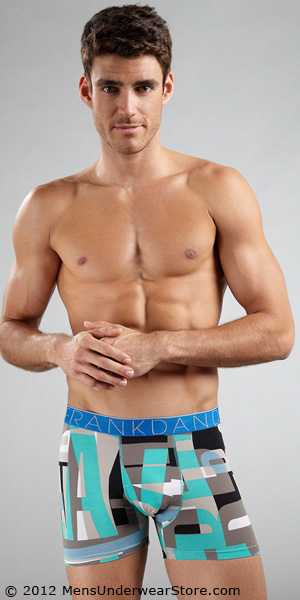 Frank Dandy Positive Blocks Boxer Brief