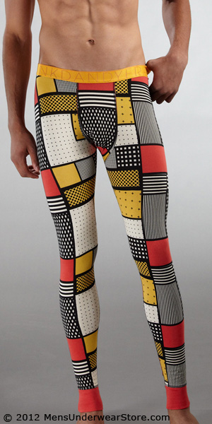 Frank Dandy Comic Square Long Johns