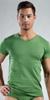 Emporio Armani Cotton Stretch Short Sleeve V-Neck