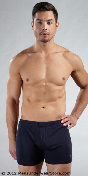 Emporio Armani Cotton Stretch Loose Boxer