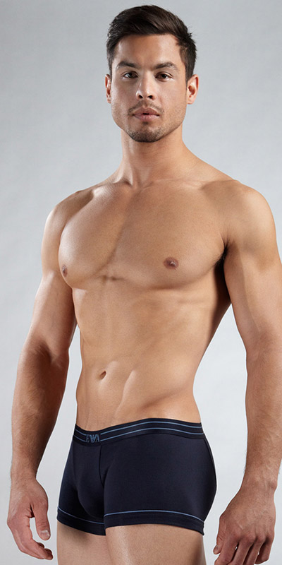 Emporio Armani Cotton Stretch Trunk