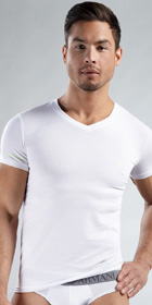 Emporio Armani Glow Short Sleeve V-Neck