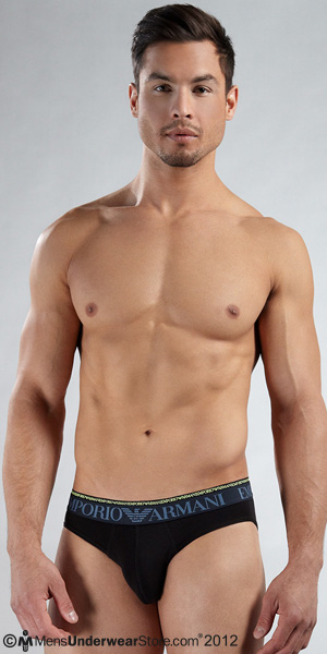 Emporio Armani Glow Double Waistband Brief