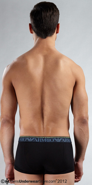 Emporio Armani Glow Double Waistband Trunk