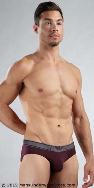 Emporio Armani Cotton Modal Brief