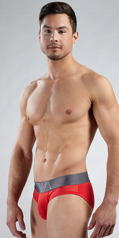 Emporio Armani Microfiber Stretch Basic 5m Brief