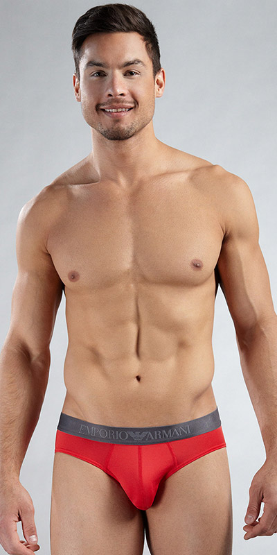 Emporio Armani Microfiber Stretch Basic Brief