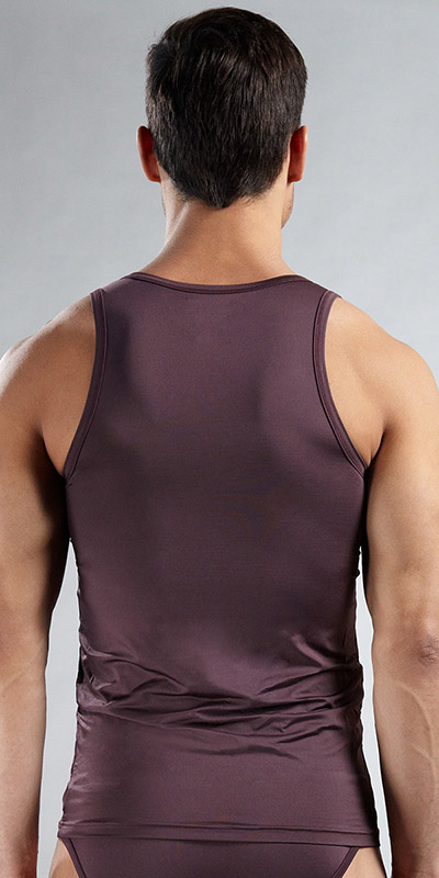 Emporio Armani Microfiber Stretch Basic Tank Top