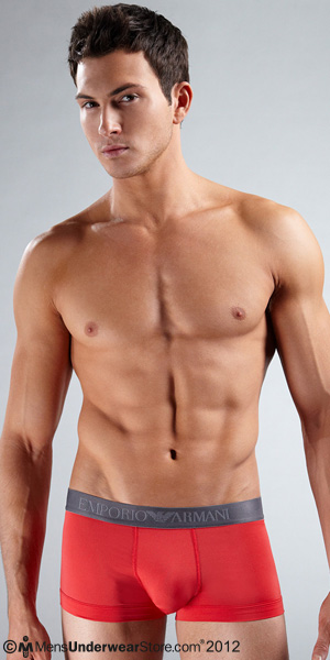 Emporio Armani Microfiber Stretch Basic Trunk