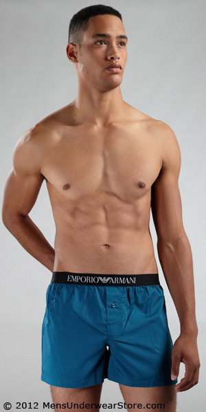 Emporio Armani Woven Boxer