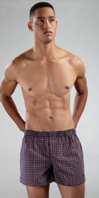 Emporio Armani Woven Traditional Boxer