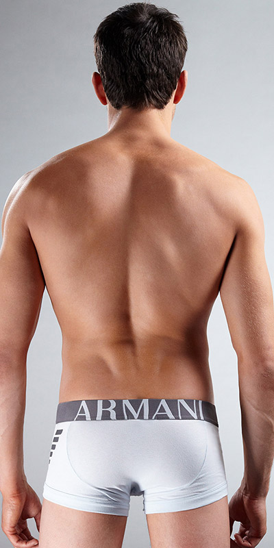 Emporio Armani Cotton Stretch Eagle Trunk