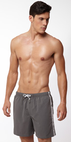 Emporio Armani Binding Logo Swim Short
