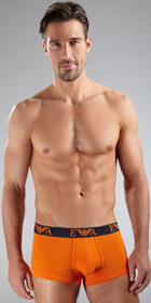 Emporio Armani Embossed Stretch Cotton Trunk