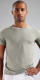 Emporio Armani Jersey Cotton Crewneck T-shirt