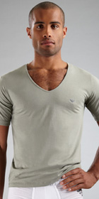 Emporio Armani Jersey Cotton V-Neck T-shirt