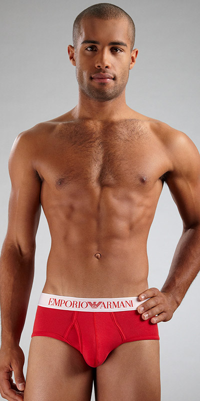 Emporio Armani Stretch Cotton Mid-Brief