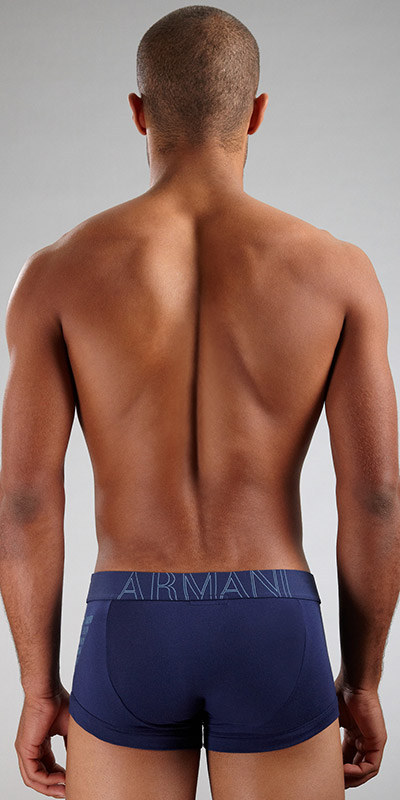 Emporio Armani Big Logo Vintage Trunk