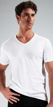 Emporio Armani Genuine Cotton 3-Pack V-Neck Shirt