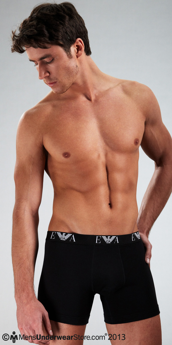 Emporio Armani Genuine Cotton 3-Pack Boxer