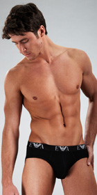 Emporio Armani Genuine Cotton 3-Pack Hip Brief
