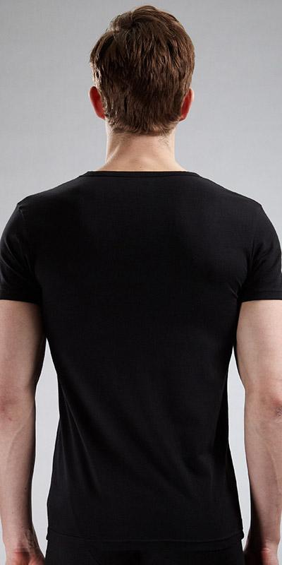 Emporio Armani Stretch Cotton V-Neck T-Shirt
