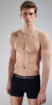 Emporio Armani Stretch Cotton Boxer Brief