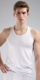 Emporio Armani Stretch Cotton Tank Top