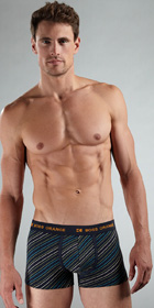 BOSS Orange Striped Boxer Trunk