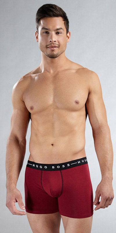 HUGO BOSS Cotton Stretch Speed Cyclist