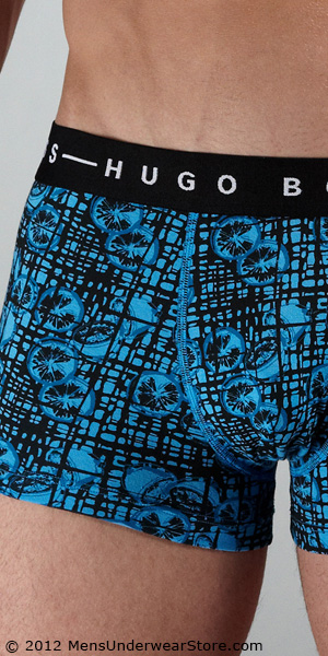 HUGO BOSS Printed Speed Boxer Trunk