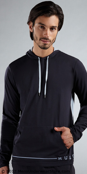HUGO BOSS Innovation Hooded Long Sleeve Shirt