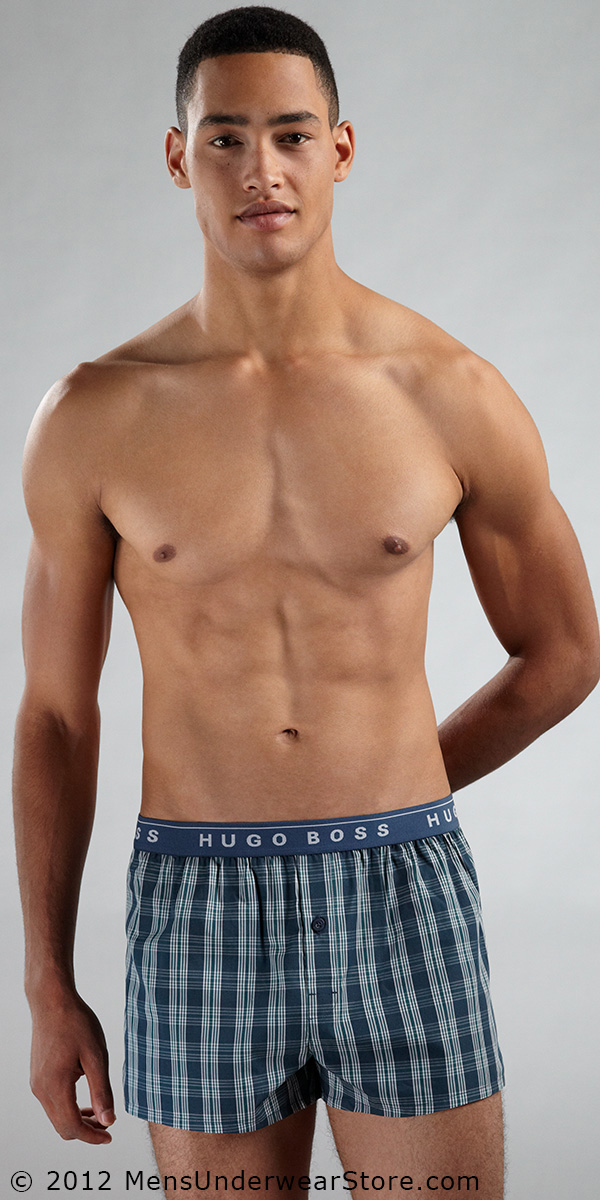 HUGO BOSS Innovation Waistband Woven Boxer