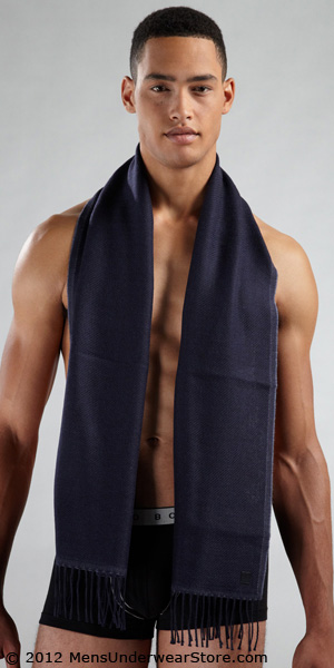 HUGO BOSS Lightweight Dbl Layer Scarf