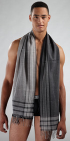 HUGO BOSS Lightweight Woven Scarf