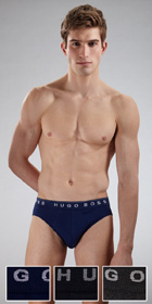 HUGO BOSS Perfect Cotton Mini Brief 3-Pack