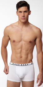 HUGO BOSS Cotton Stretch Boxer Trunk 3-Pack