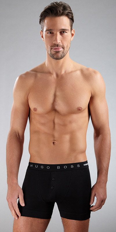 HUGO BOSS ORIGINAL Button Front Boxer Briefs