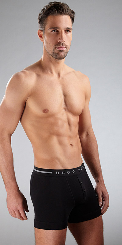 HUGO BOSS ORIGINAL Button Front Boxer Briefs